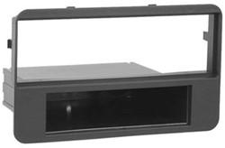 1-DIN inbouwframe, Alfa 159 double DIN 2006 >  zwart