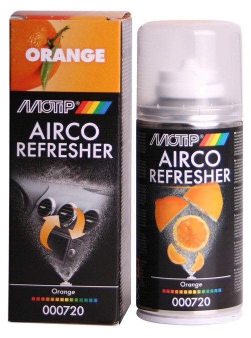 Motip 000720 AIRCO REFRESHER ORANGE    150 ml