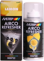 Motip 00722 150ml Airco Refresher Lemon