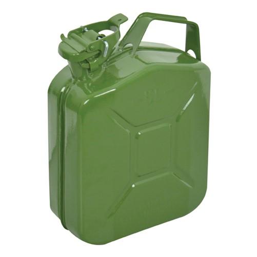 Carpoint Benzinekan 5Ltr Groen Metaal UN-keur