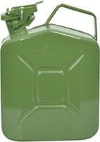 Benzinekan 5Ltr. groen metaal UN-keur-2