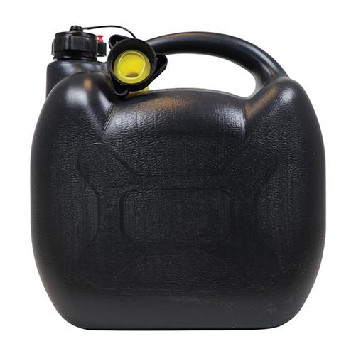 Benzinekan 10L Zwart