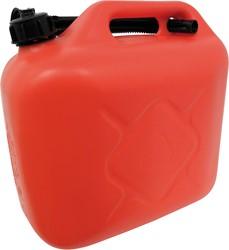 Benzinekan 10Ltr. rood