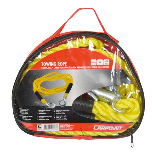 Carpoint Sleepkabel 14mm 3000kg, zipperbag-2