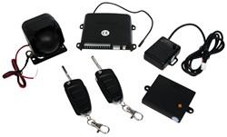 Auto alarm met klapsleutel 12V, LC056+LT018