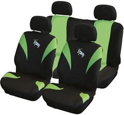 Stoelhoesset 8-delig Sprinkhaan airbag