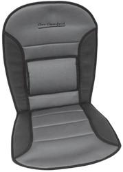 Stoelkussen Comfort, zwart/grijs