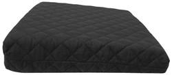 Zitkussen Basic Black, 40x40cm