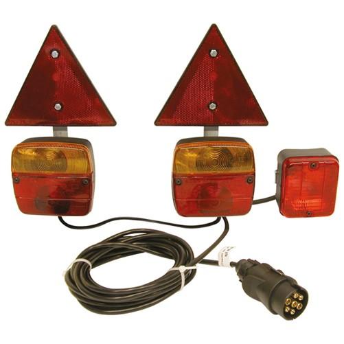 Verlichtingskit Magneet met Drieh
