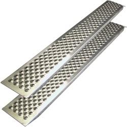 Oprijplaten 2 x 1.50m aluminium