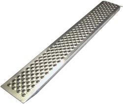 Oprijplaat 1x 1,50m aluminium 200kg