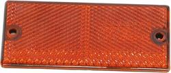 Reflector oranje 90x40mm onverpakt