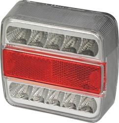 Achterlicht 5 functies 10 LED 100x10x37mm