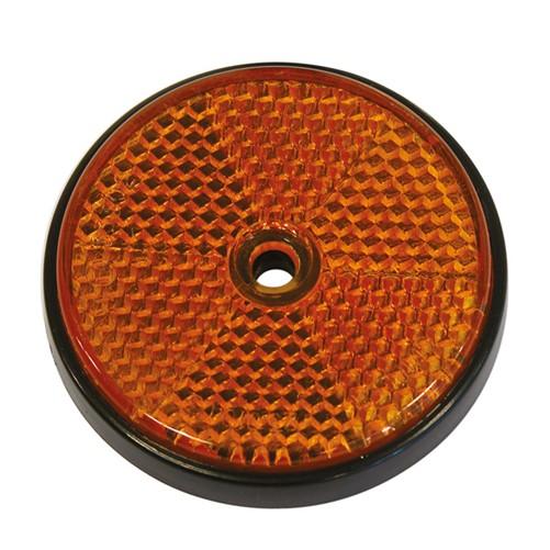 Reflector Rond 70mm Bulk Oranje