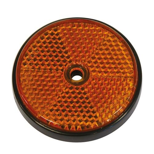 Carpoint Reflectoren Rond Ø 70mm Oranje 2 Stuks