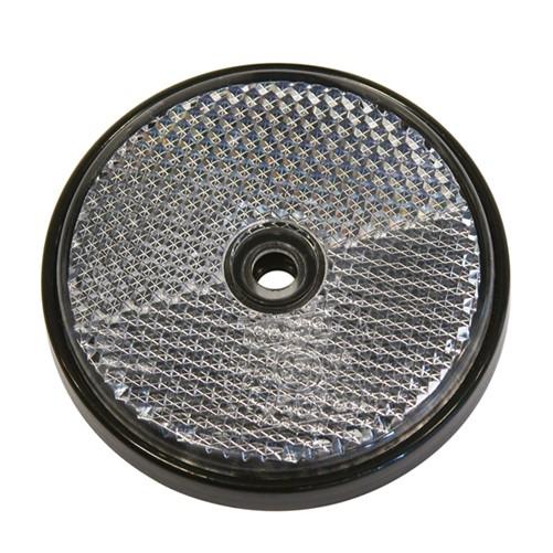 Reflectoren Rond 70mm Wit 2st