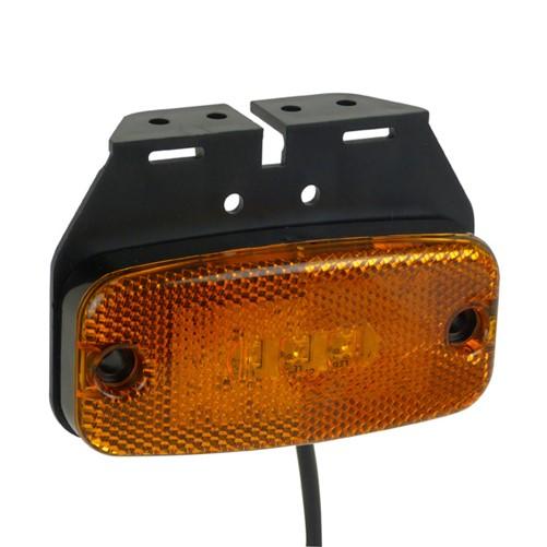 Markeringslamp LED met Steun Oranje