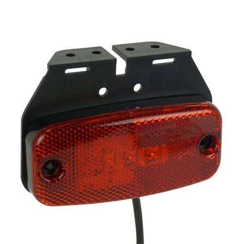 Carpoint LED Markeringslamp Rood 9-32V