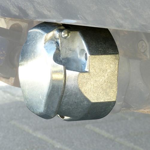 Stekkerdoos 7 polig metaal 12V-2