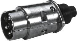 Stekker 7 polig metaal bulk 12V