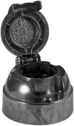Stekkerdoos 7-polig metaal bulk 12V