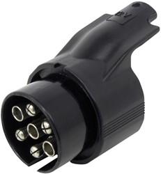 Adapter 7p stekker naar 13p doos 12V