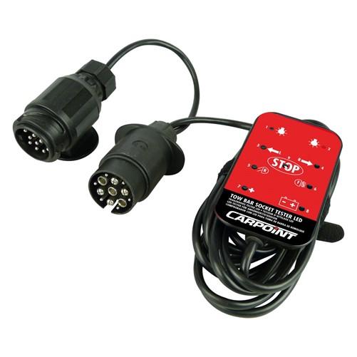 Carpoint 12V LED Stekkerdoos Tester