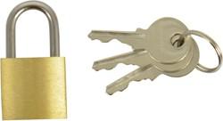 Hangslot 20mm + 2 sleutels