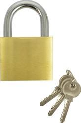 Hangslot 60mm + 2 sleutels