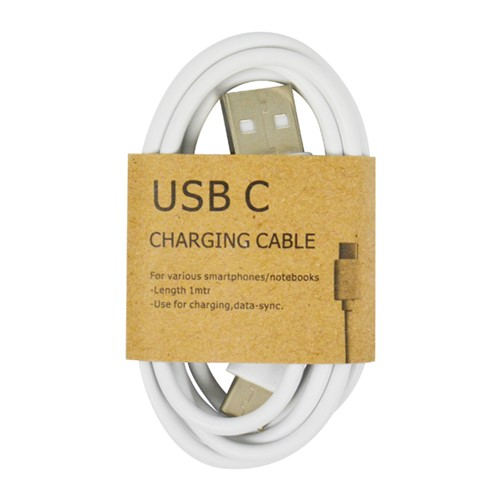 GrabNGo USB-C laadkabel wit