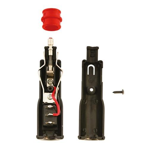 Aanstekerplug met schakelaar12V 8A
