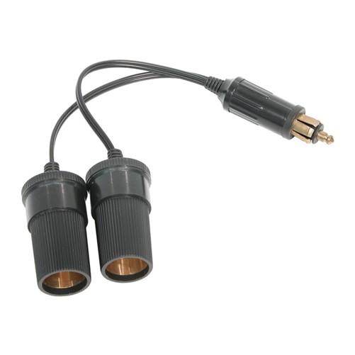 Carpoint 2-Weg Stekker ISO 4165 2x12/24V