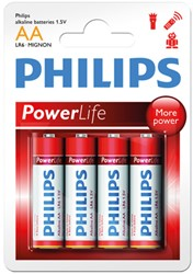 Philips Powerlife LR03(AAA)Blst 4st