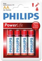 Philips Powerlife LR6(AA) Blst 4st