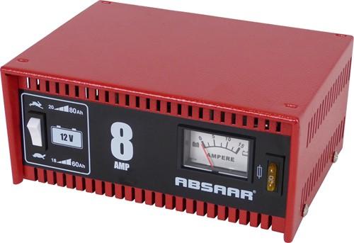 Absaar acculader 8A 12V-1