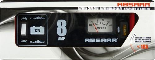 Absaar acculader 8A 12V-2