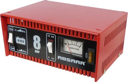 Absaar Acculader 8A 6/12V-1