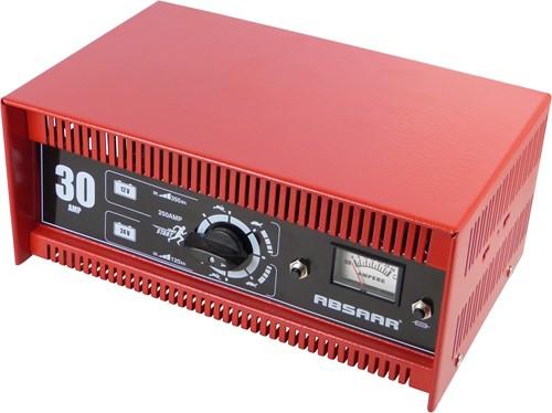 Absaar Acculader 30AMP 12/24V N/E AmpM SH250-1