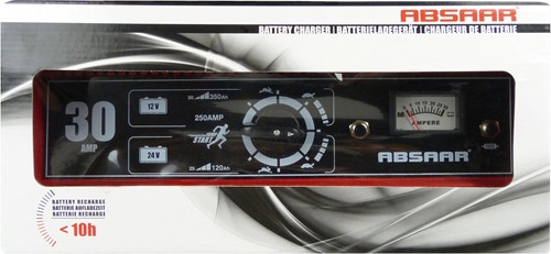 Absaar Charger 30A 12/24V N/E Amp-2