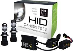 Canbus HID-Xenon set H4 Bi-Xenon 6000K AC Slim-Ballast