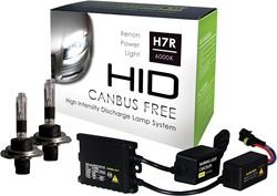 Canbus HID-Xenon set H7R 6000K AC Slim-Ballast