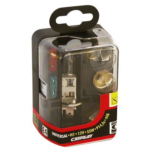Carpoint 7-Delige Reservelampenset H1