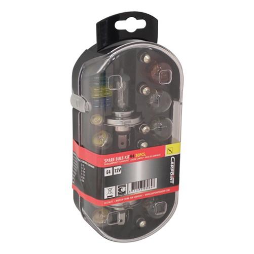 Carpoint 30-Delige Reservelampenset H4