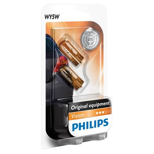 Philips 12396NAB2 WY5W, 2 stuks