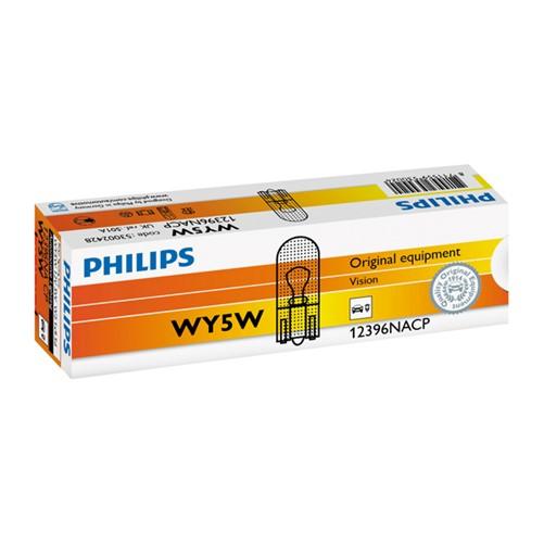 Philips 12396NACPWY5W, 10 stuks