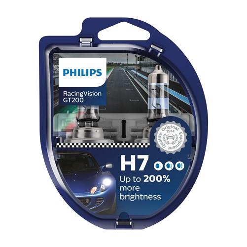 Philips 12972RGTS2 Racing Vision GT200 H7 2 stuks