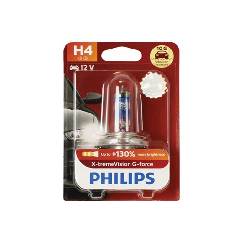 Philips 12342XVGB1 X-tremeVision G-force H4