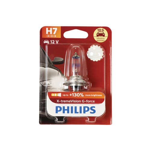 Philips 12972XVGB1 X-tremeVision G-force H7