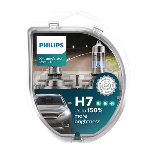 Philips 12972XVPS2 X-treme Vision Pro150 H7 2 stuks