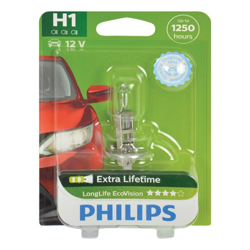 Philips 12258LLECOB1 H1 EcoVision 55W blister